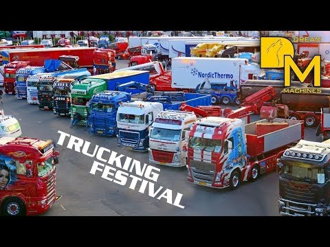 TRUCKING FESTIVAL NORDIC TROPHY 2017 TRUCK MEET ARRIVALS