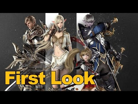 Lineage 2 Revolution Gameplay First Look – MMOs.com