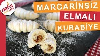 Margarinsiz Yumuşacık Elmalı Kurabiye Tarifi - Kurabiye Tarifleri - Nefis Yemek Tarifleri