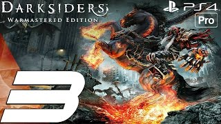 Darksiders Warmastered Edition - Gameplay Walkthrough Part 3 - Twilight Cathedral (PS4 PRO)