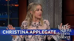 Christina Applegate Leads A Double Life As A Librarian