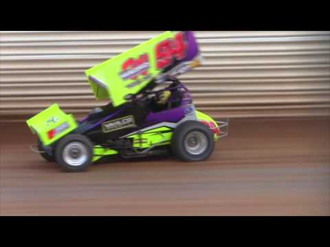 Port Royal Speedway 410 Sprint Car Highlights 07-02-16