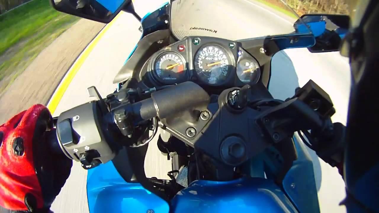 Kawasaki Ninja 250r Top Speed Youtube