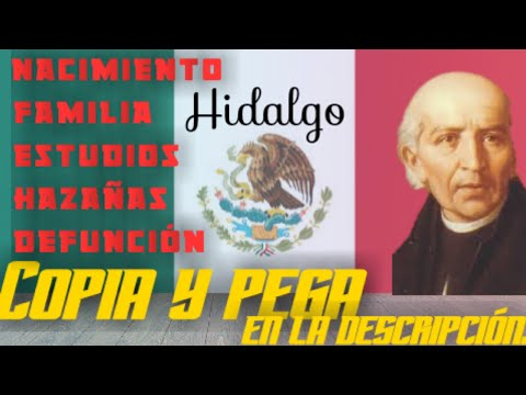 Biografia De Miguel Hidalgo Y Costilla Independencia De Mexico