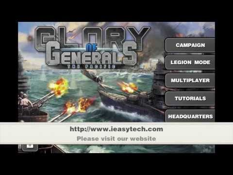 Glory of Generals- Pacific War Trailer