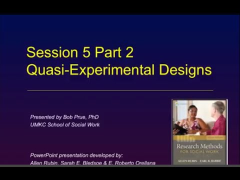 what are the principal data sources in experimental and quasi experimental research