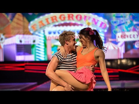 Bobby Lockwood & Kristin Allen's Floor Perfomance to 'Kiss You' - Tumble: Episode 2 - BBC One