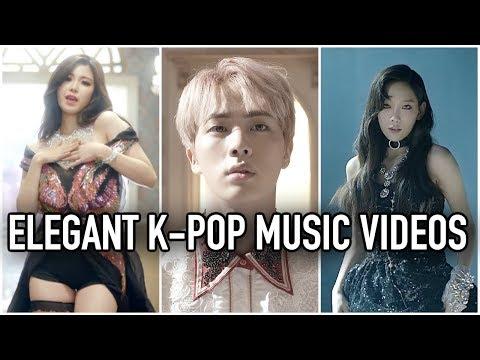 100 ELEGANT K-POP MUSIC VIDEOS