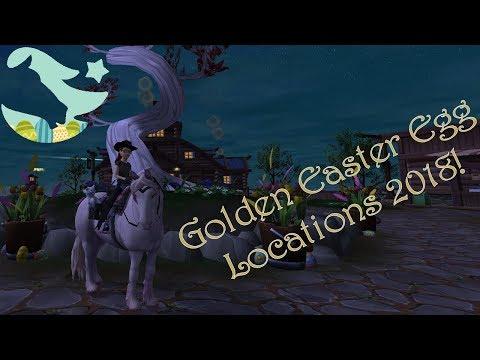 SSO ~ Golden Easter Egg Locations 2018!