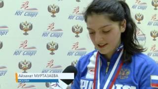 Айзанат Муртазаева Флеш-интервью Шпага юниорки / личные соревнования (Финал)