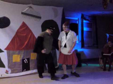 Rotkappchen Und Der Bose Wolf Fasching 2010 In Saalsdorf Youtube