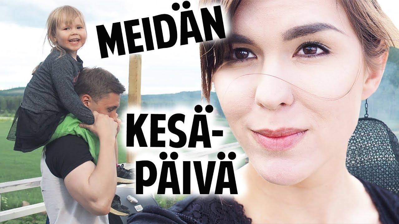 LASTEN KANSSA MAALLA 👶👩❤️ - PERHEVLOGI | The Realm of Maria