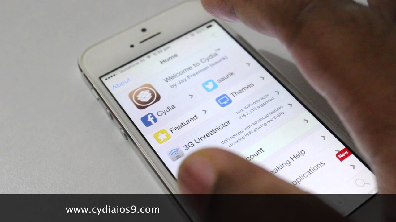 application cydia iphone 6 Plus