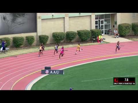 Tamari Davis Runs 23.26 AAU National Record 200m
