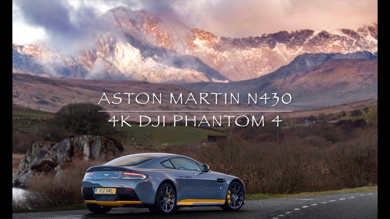 Aston Martin N430 vs DJI Phantom 4