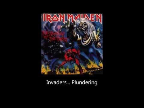 Iron Maiden - Invaders (Lyrics)