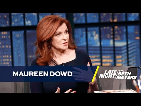 Maureen Dowd Had Coffee with Donald Trump in the '80s
