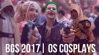 Cosplays da BGS 2017 | Brasil Game Show | COSPLAY