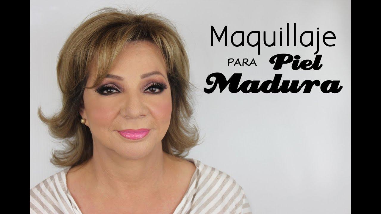 maquillaje para mujeres maduras