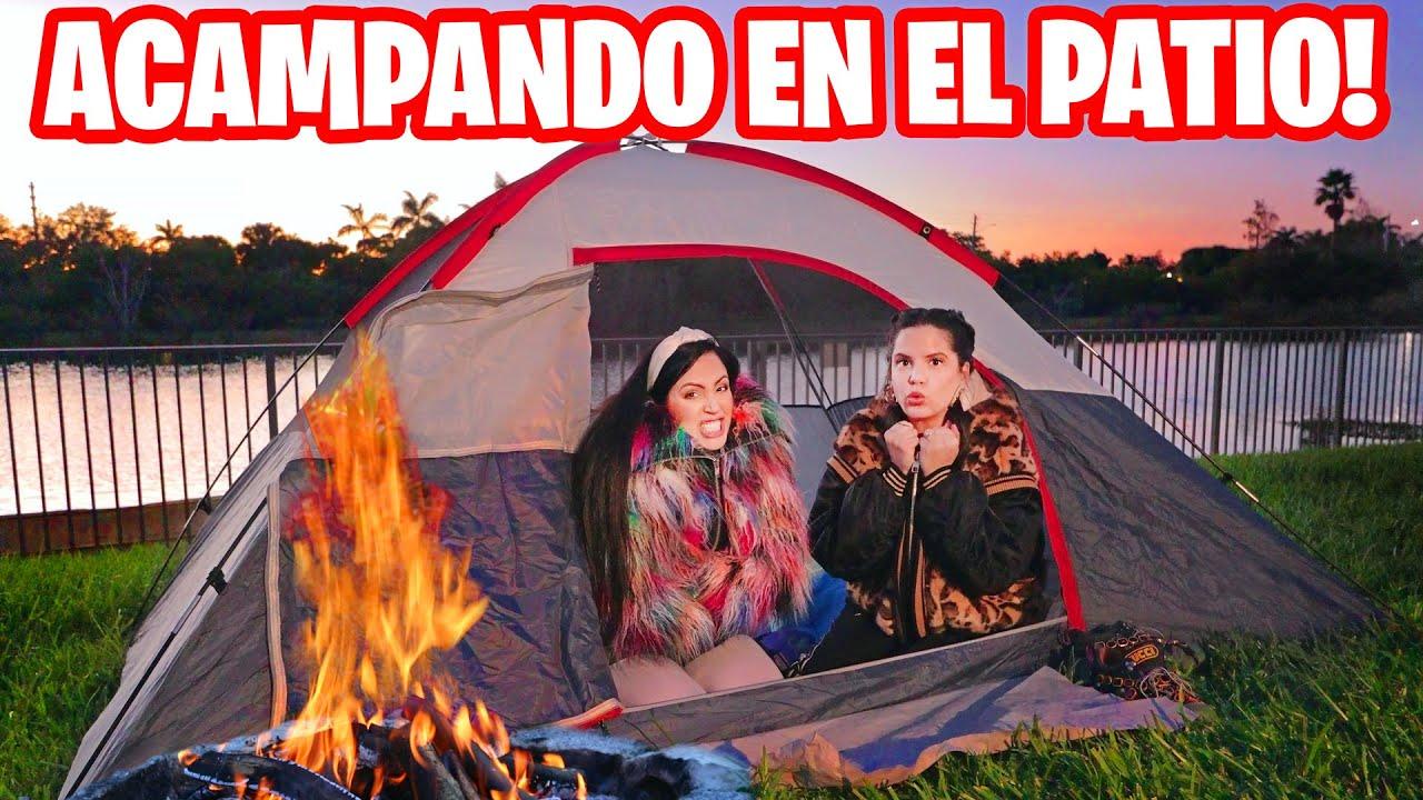 Acampando En El Jardin De Mi Casa Que Frío Ft El Mundo De Camila Reto 24 Horas Sandra Cires Art Video Analysis Report