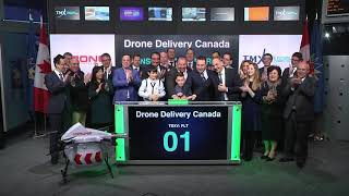 Drone Delivery Canada Corp. Opens Toronto Stock Exchange, January 5, 2018