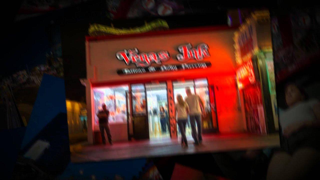 Las Vegas Tattoo Shop - Vegas Ink - YouTube