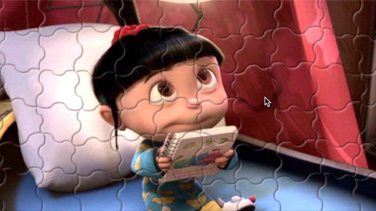 Meu Malvado Favorito Agnes Minions Quebra Cabeca Brinquedos Para