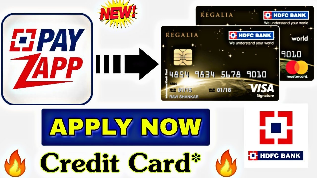 How to Apply HDFC Bank Credit Card From Payzapp Wallet Application 💥 अब  payzapp से क्रेडिट कार्ड?🔥