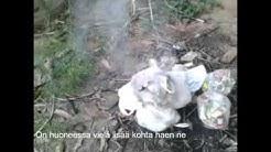 Thaimaan turistin roskien poltto