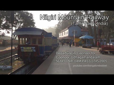 Nilgiri Mountain Railway - Coonoor Departure