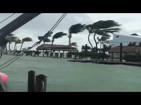 Key Largo Florida Irma Is Strong Last Situation Is Terrible!!!