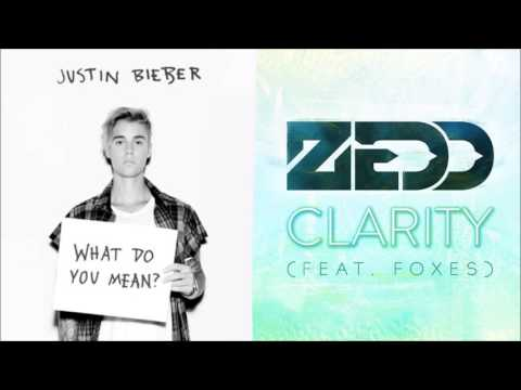 Justin Bieber Ft. Foxes - What Do You Mean Clarity? (Tricky Mashup)