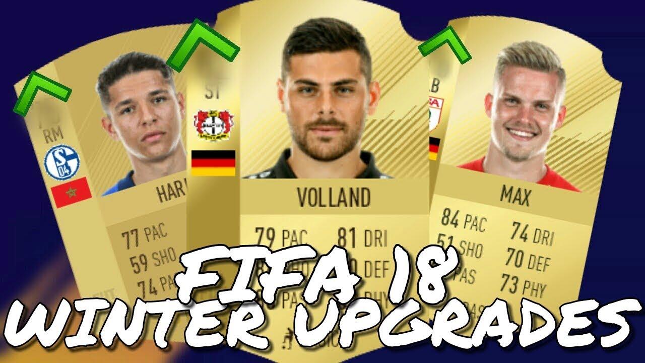 Winter Upgrades Fifa 18