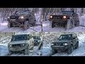 Jeep Cherokee vs Grand Cherokee vs Mitsubishi Pajero vs Nissan Patrol - part 1