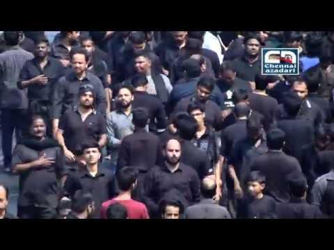 10th Moharram 1438, Chennai Maatami Juloos. 12 October 2016