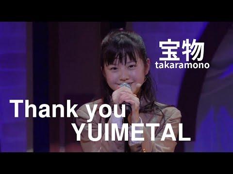 【UME★Mash】Thank you YUIMETAL Takaramono  Sakura Gakuin Seniors Moa, Yui, Hana, Yunano