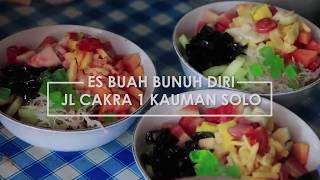 Kuliner di Solo: Es Buah Bunuh Diri, Porsi Jumbonya Bikin Blenger - SOLO 60 DETIK