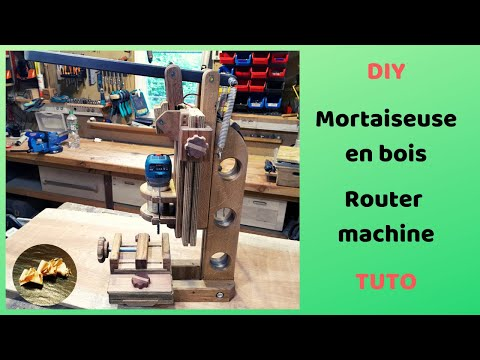 Mortaiseuse en bois Routeur led  DIY