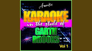 A New Way to Fly (In the Style of Garth Brooks) (Karaoke Version)