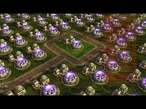 Particle Cannon War 1 Vs 2 - C&C Zero Hour | Shockwave Chaos 2020
