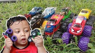 Mainan Mobil Monster Jam untuk Belajar Bahasa Inggris