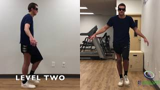 Single Leg Standing | Proprioception Following Knee Surgery | Senaptec Strobe Eyewear | Part 1