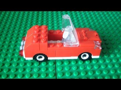 видео: Делаем простой автомобиль из lego