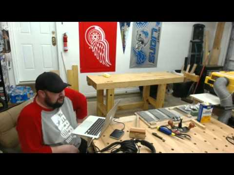 Finishing The Workbench || Boiled Linseed Oil