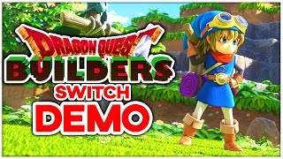 🔴 MINECRAFT & DRAGON QUEST vereint auf der SWITCH - Dragon Quest Builders Nintendo Switch Demo