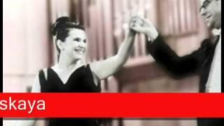 Galina Vishnevskaya Villa Lobos Bachianas Brasileiras No 5