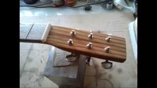 Cigar Box Guitar - Wine Box Guitar - Build - Costruzione