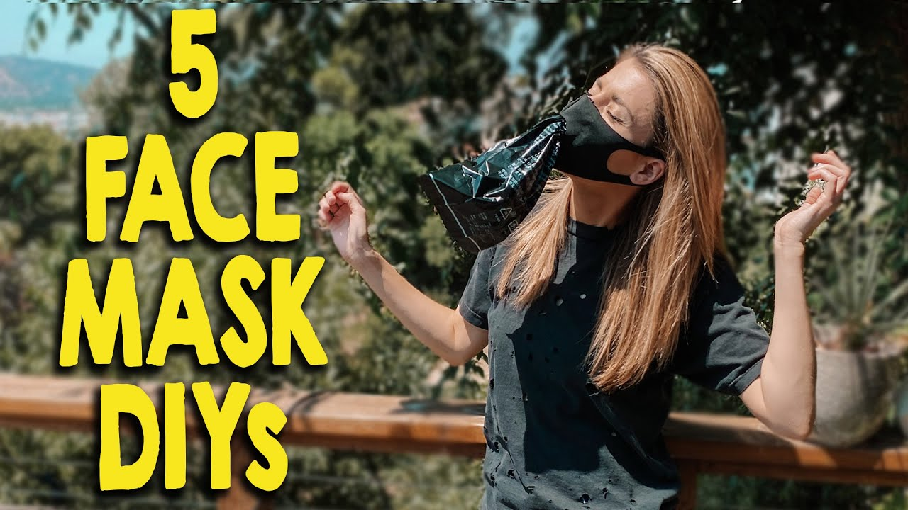 5 FUN FACE MASK DIYs // Grace Helbig