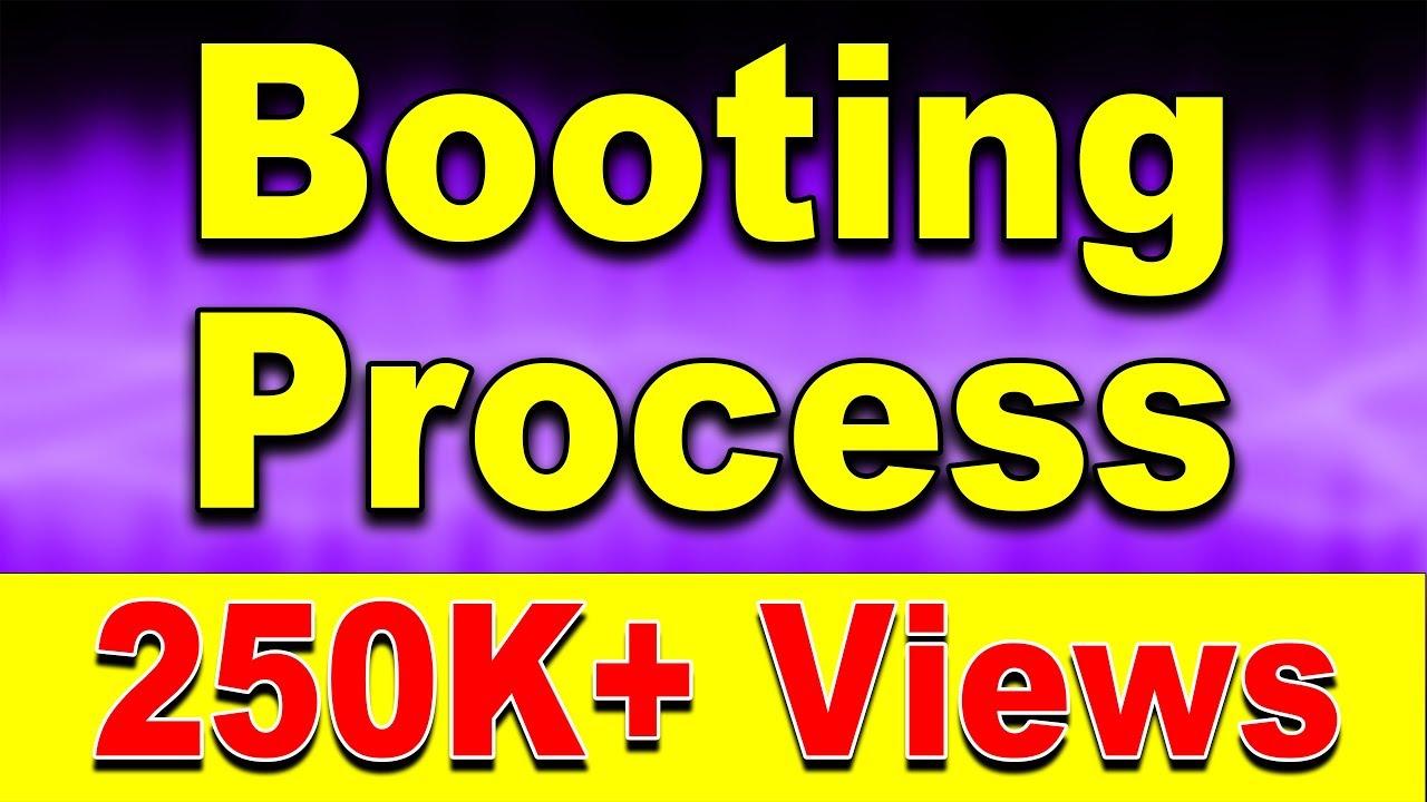 What is Booting Process? POST (Hindi) | Kshitij Kumar