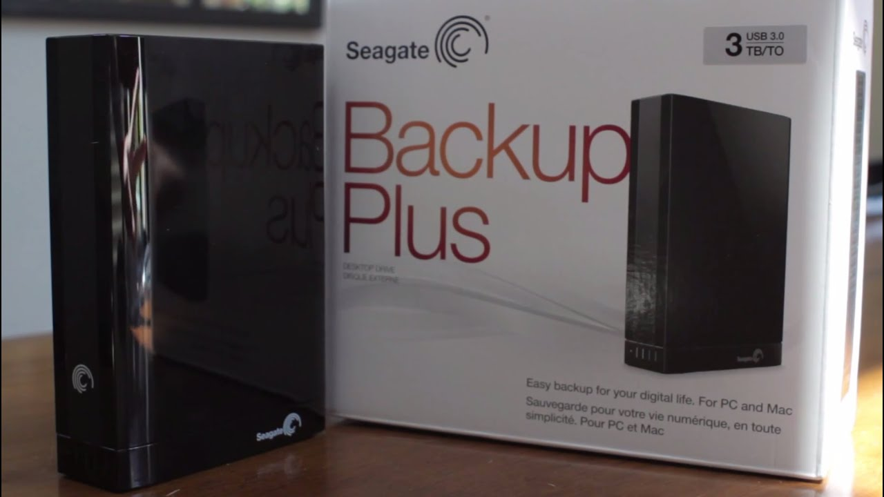 how to open seagate external hard drive 3tb